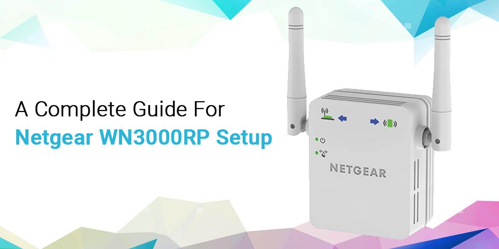 Netgear WN3000RP Setup