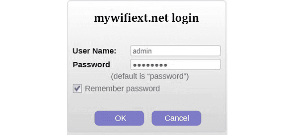 mywifiext login